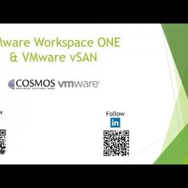 Embedded thumbnail for Webinar: VMware Workspace ONE & VMware vSAN VMware | Cosmos Business Systems