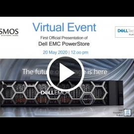 Embedded thumbnail for First Official presentation of the brand New Dell EMC PowerStore at Cosmos's Virtual Event